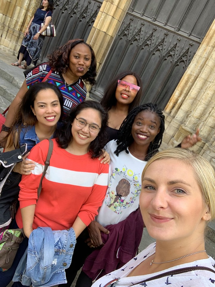 Candidates for York Teaching Hospital NHS Foundation Trust and our director Edyta having fun in York City Centre.
