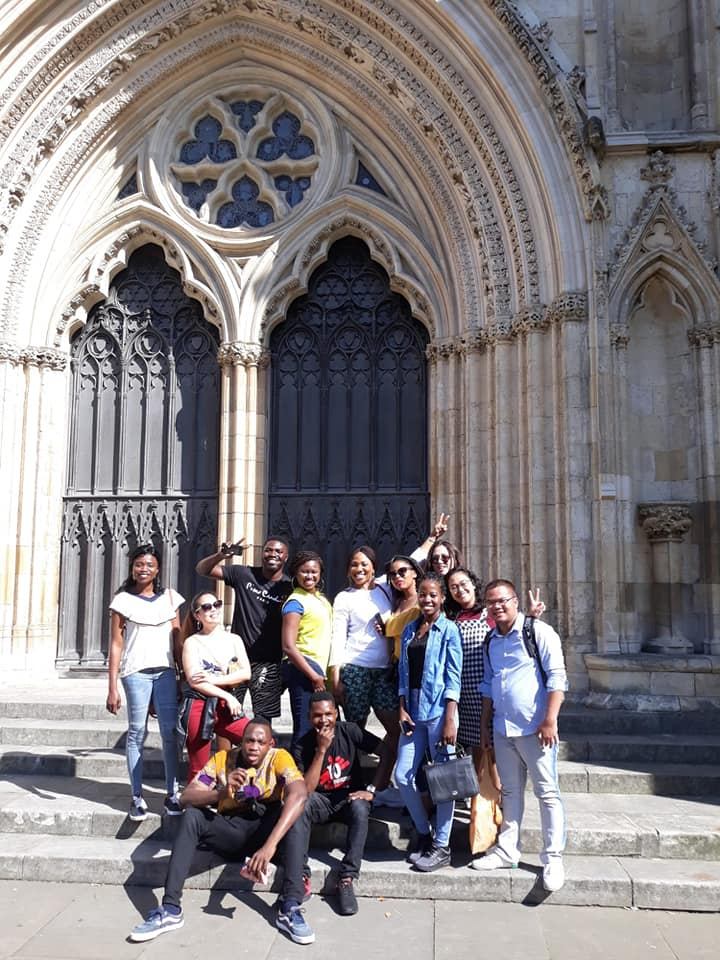 Candidates for York Teaching Hospital NHS Foundation Trust visiting the York Minster.