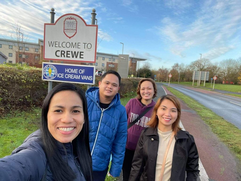 Cohort 5 (part 2) out of isolation at last and exploring Crewe!